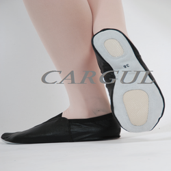 Black Leather Gymnastic shoes