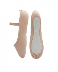 Leather Ballet shoes Full Sole